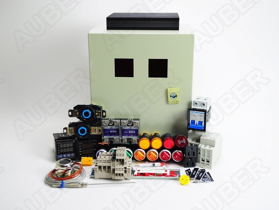 hight resolution of powder coating oven controller kit w light fan control 12000w