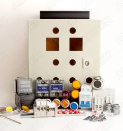 powder coating oven controller kit 240v 50a 12000w  [ 1280 x 1128 Pixel ]