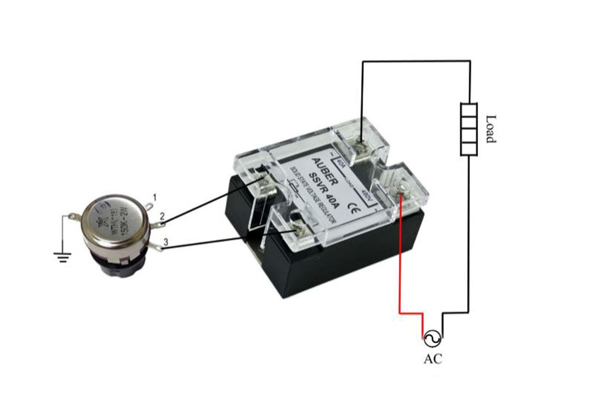 solid state relay wiring diagram chevy 350 distributor 40a voltage regulator high power scr ssvr
