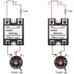 Wiring Diagram For Home Thermostat 5 Pillar Template Powerpoint 25a Solid State Voltage Regulator, High Power Scr, Ssvr [ssvr25a] - $22.50 : Auberins.com ...