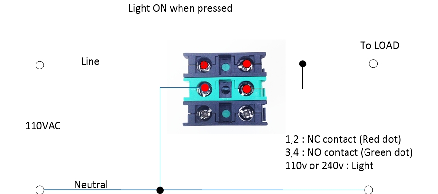 Switch Normally Open Diagram On 9 Pole Toggle Switch Wiring Diagram