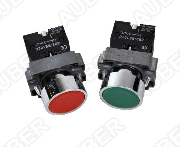 Illuminated Metal Maintained Push Button Switch 19 Mm Sw18 1297