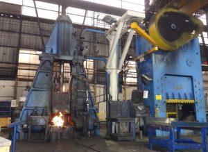 closed die forging parts