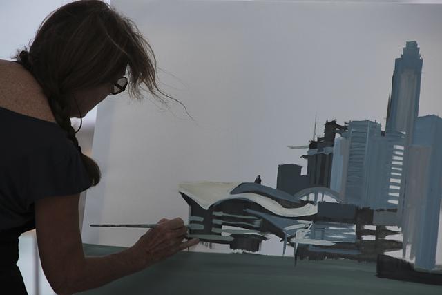 peintures-de-hong-kong-peintre-michelle-auboiron-peindre-la-ville