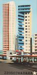 Les tours du Malecon - Acrylique sur toile de Michelle Auboiron