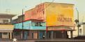 Cinema Avenida - Acrylique sur toile de Michelle Auboiron