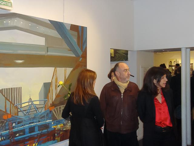 Exposition Bridges of Fame de Michelle Auboiron à la galerie CROUS Beaux Arts à Paris