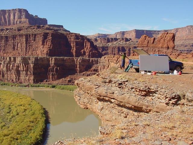 Canyonlands - Moab - Utah - Photo : Charles GUY - 2001