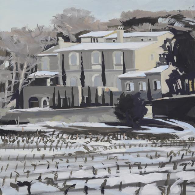 Oppède - Peinture du Lubéron par Michelle AUBOIRON