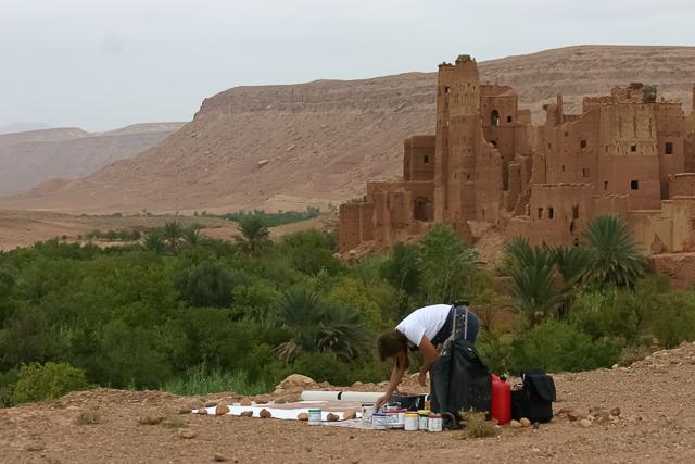 michelle-auboiron-peintre-en-action-sud-marocain--19