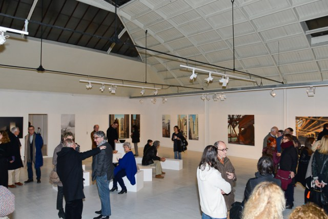 Vernissage le 10 décembre 2015 - Photo Emmanuel Aguirre
