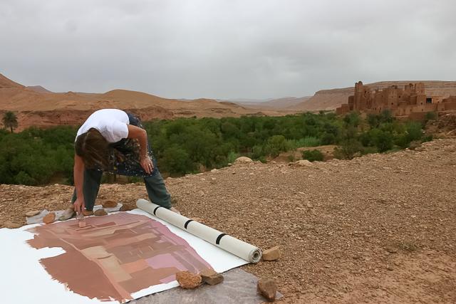 michelle-auboiron-peintre-en-action-sud-marocain--22