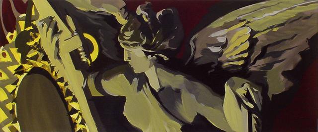 Peinture de l'Opéra Garnier par Michelle Auboiron