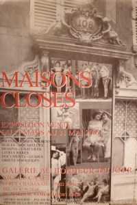 Exposition Maisons closes