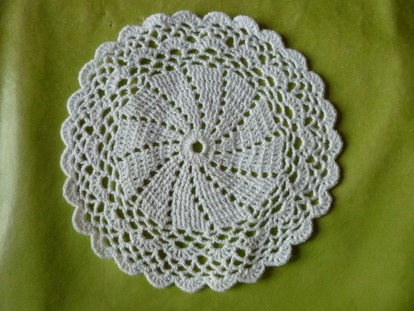Comment Tricoter Un Napperon Au Crochet