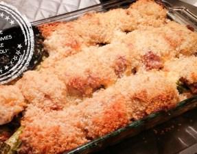 Gratin de poulet, pommes de terre et brocoli - Auboutdelalangue.com