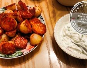 Pommes de terre grillées à l'ail et au parmesan - Auboutdelalangue.com