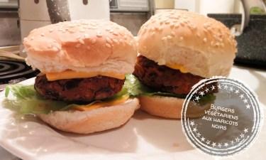 Burgers végétariens aux haricots noirs - Auboutdelalangue.com