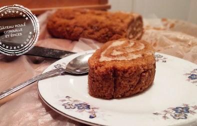 Gâteau roulé citrouille et épices - Auboutdelalangue.com