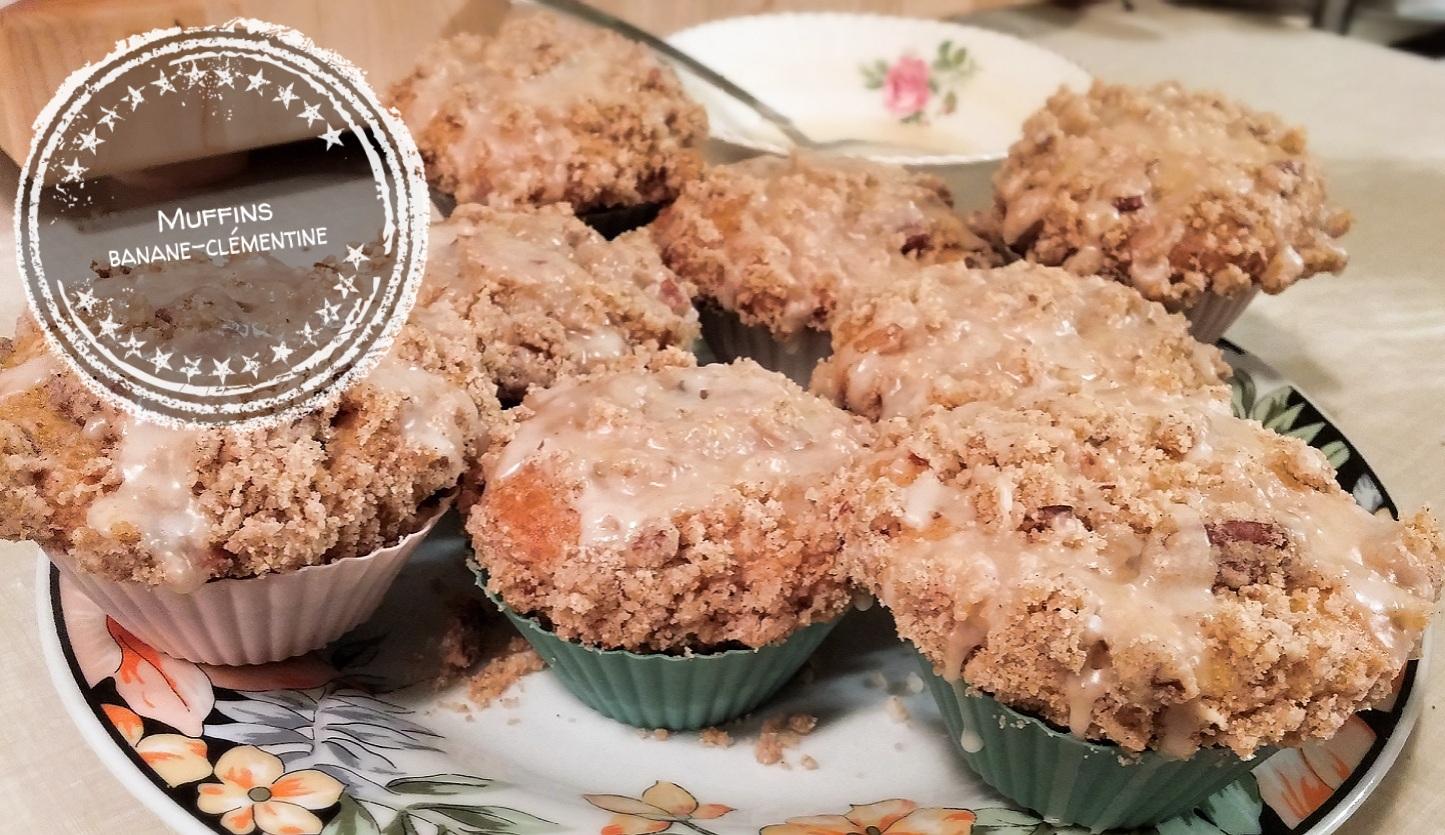 Muffins banane-clémentine - Auboutdelalangue.com