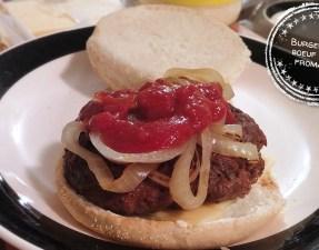 Burgers de boeuf BBQ fromage - Auboutdelalangue.com