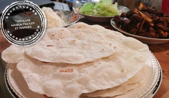 Tortillas maison faciles et rapides - Auboutdelalangue.com