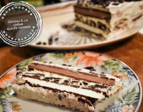 Gâteau à la crème glacée express - Auboutdelalangue.com