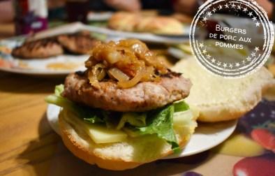 Burgers de porc aux pommes - Auboutdelalangue.com