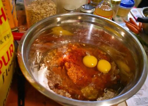 Muffins à la citrouille et à l'avoine dans un seul bol - Auboutdelalangue.com (3)