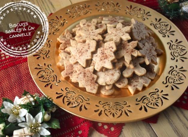 Biscuits sablés à la cannelle - Auboutdelalangue.com