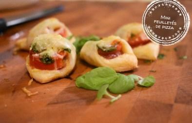 Mini feuilletés de pizza - Auboutdelalangue.com