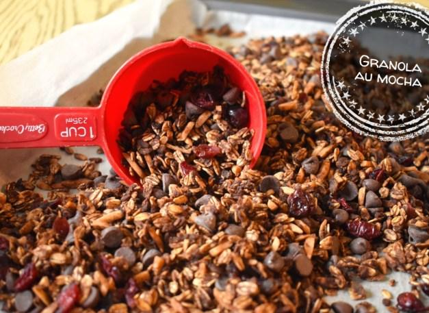 Granola au mocha - Auboutdelalangue.com