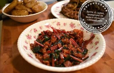 Bette à carde, garniture de bacon et d'échalotes caramélisés - Auboutdelalangue.com (12)