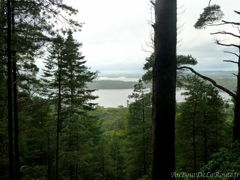 Point de vue sur les lacs