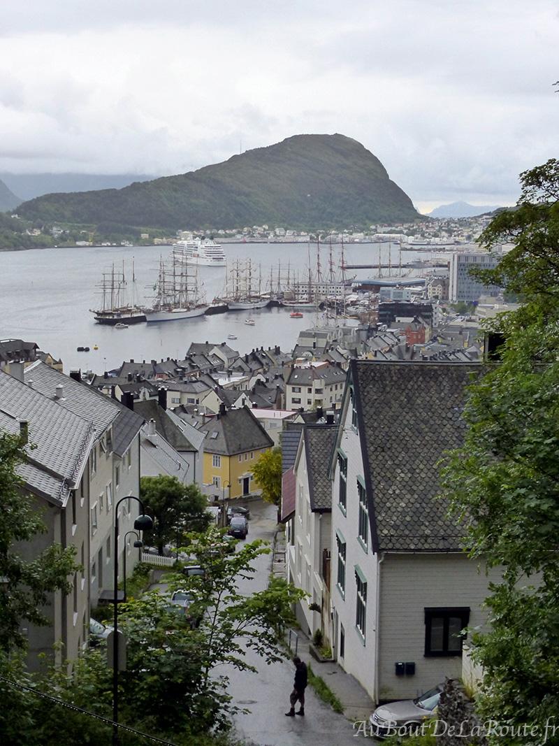 Alesund-vue-port