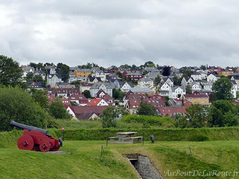 Depuis le fort de Kristiansten