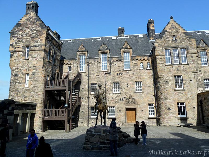 Hopital du chateau d Edimbourg