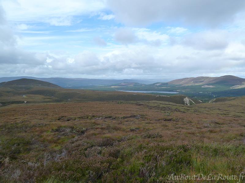 Vue depuis le Cairngorm