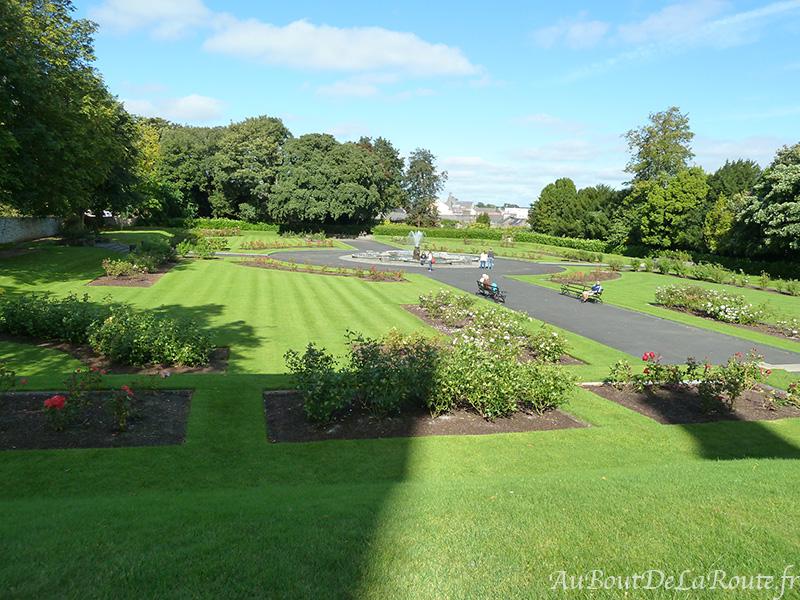 Jardin du château de Kilkenny