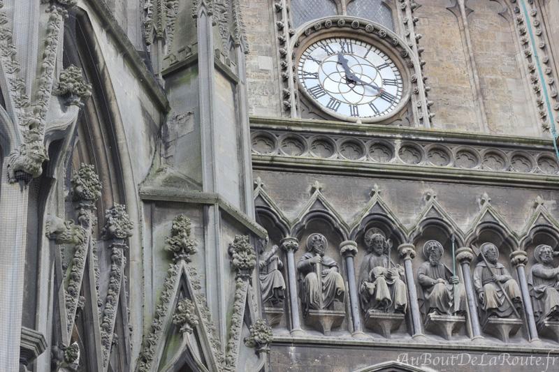 Details de la façade de St Mary Redcliffe