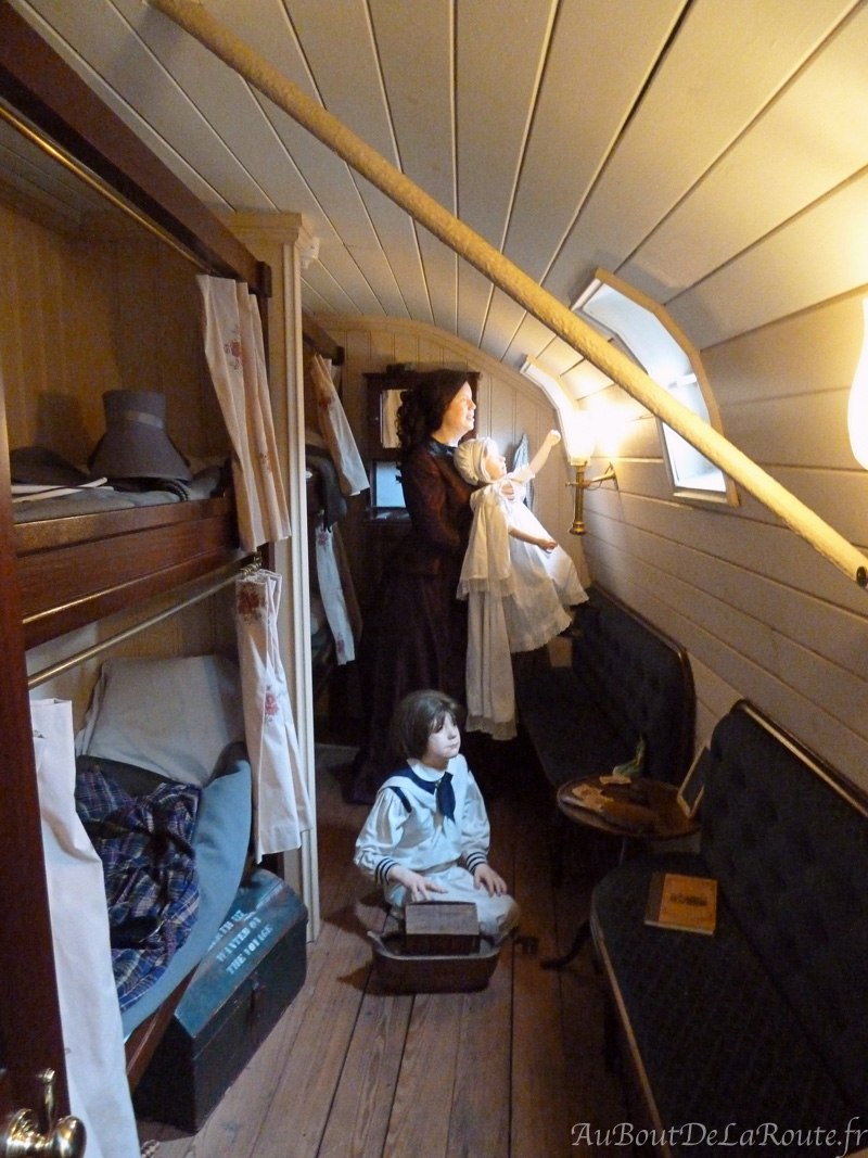 La plus grande cabine de 1e classe