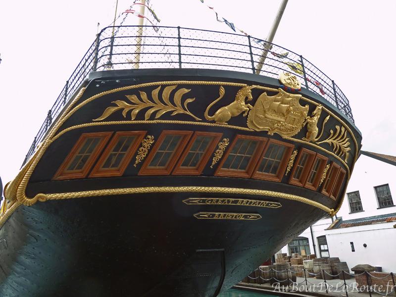 Poupe du SS Great Britain