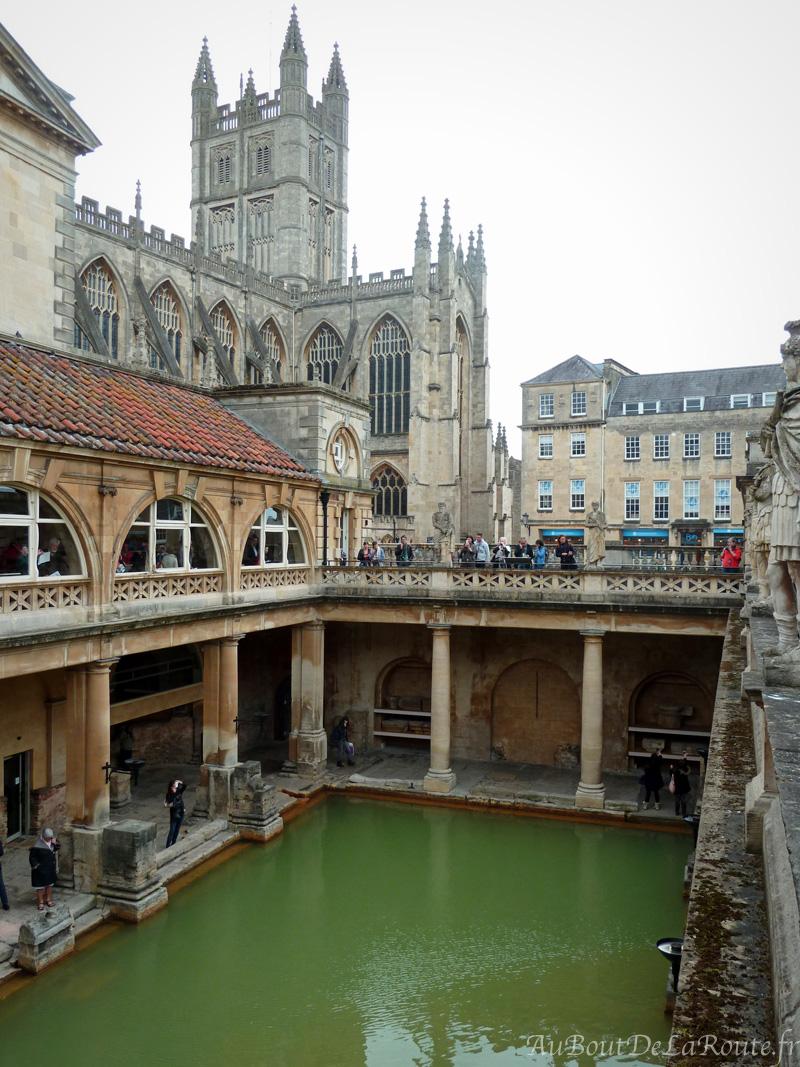 Great Bath de la terrasse