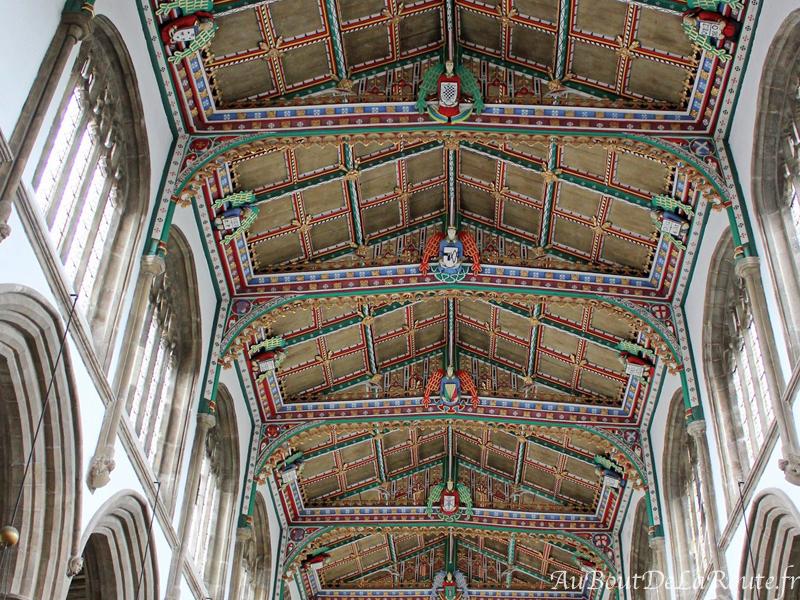 Plafond de St Cuthbert
