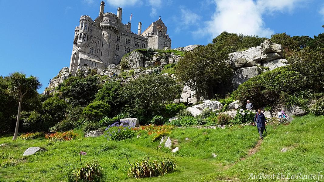 Château vu des jardins