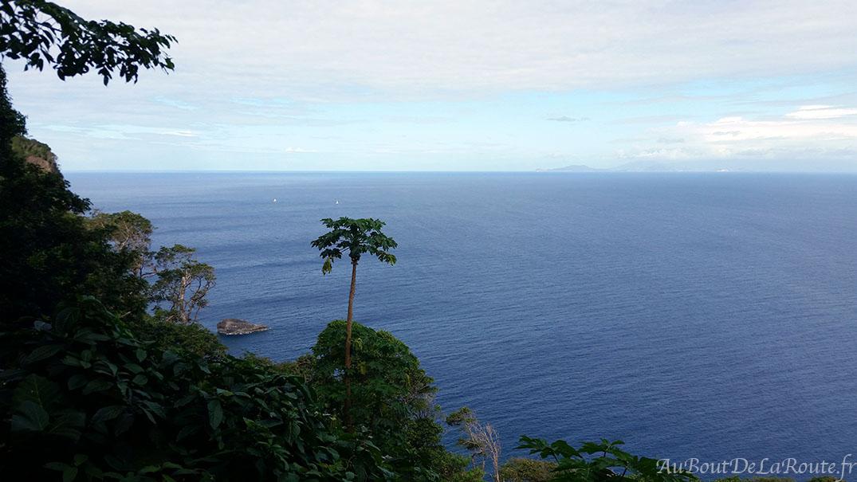 Vue sur les îles