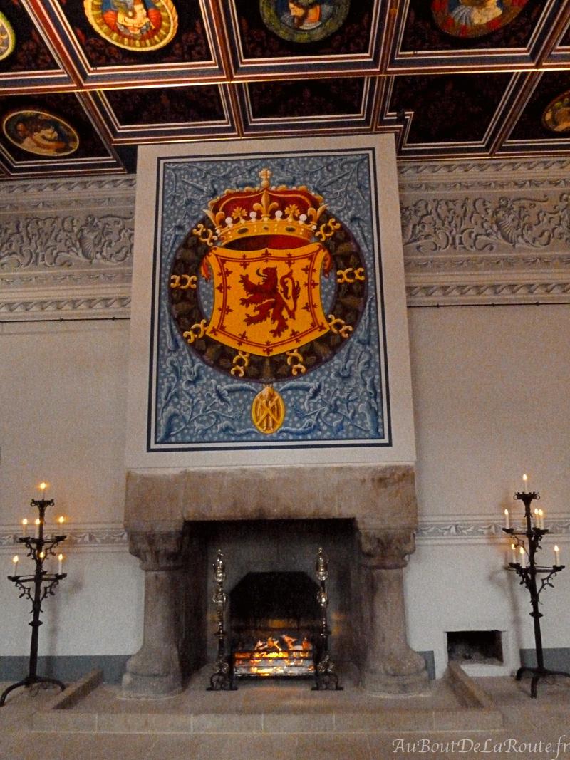 Appartements royaux et les tetes de Stirling