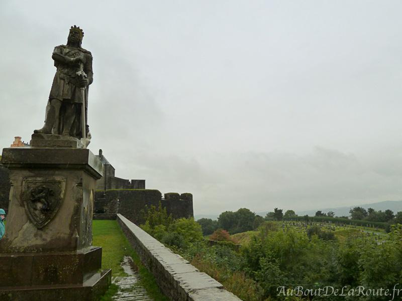 Statue de Robert The Bruce