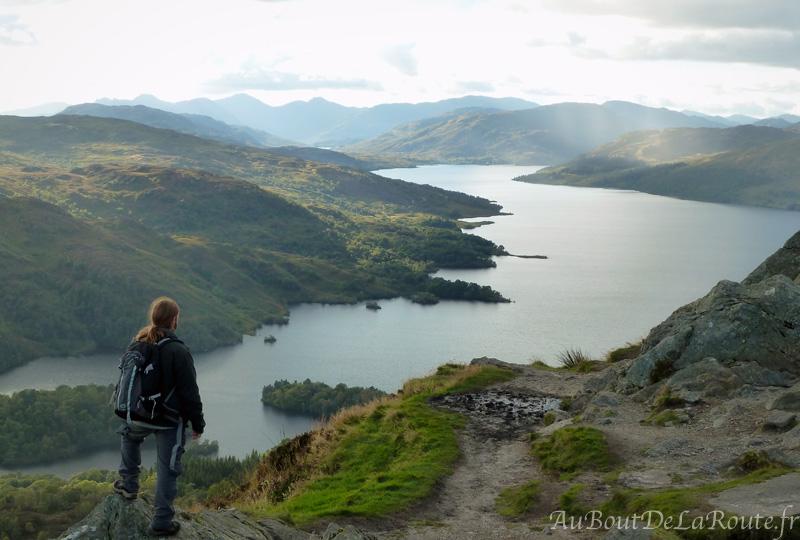 Loch Katrine du Ben A an