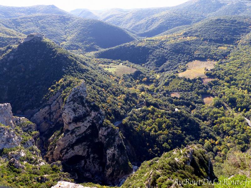 Chateau de Termes et les Gorges du Termenet